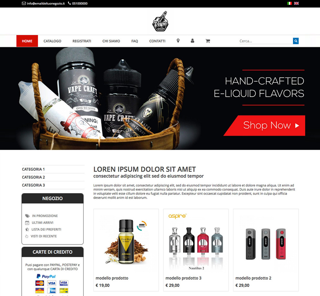 template-ecommerce-cocommerce 1