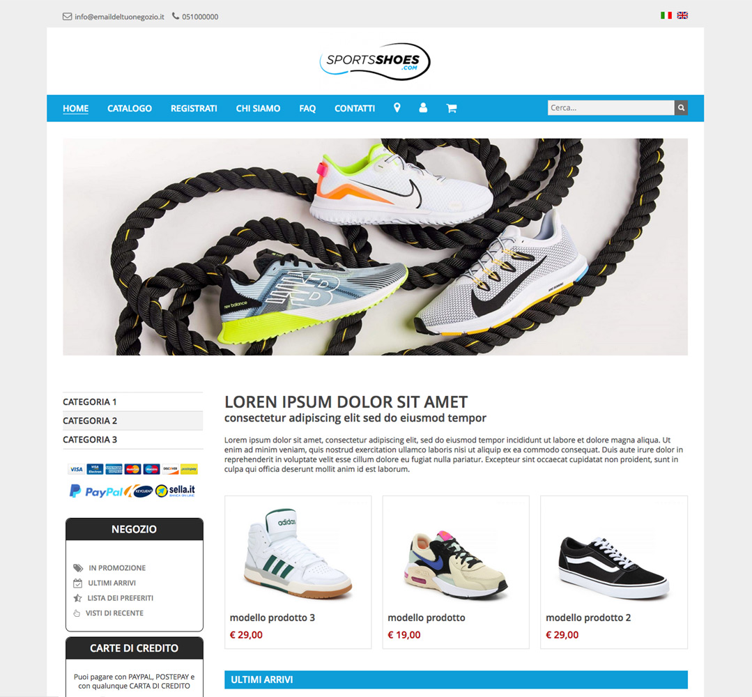 template-ecommerce-cocommerce 2