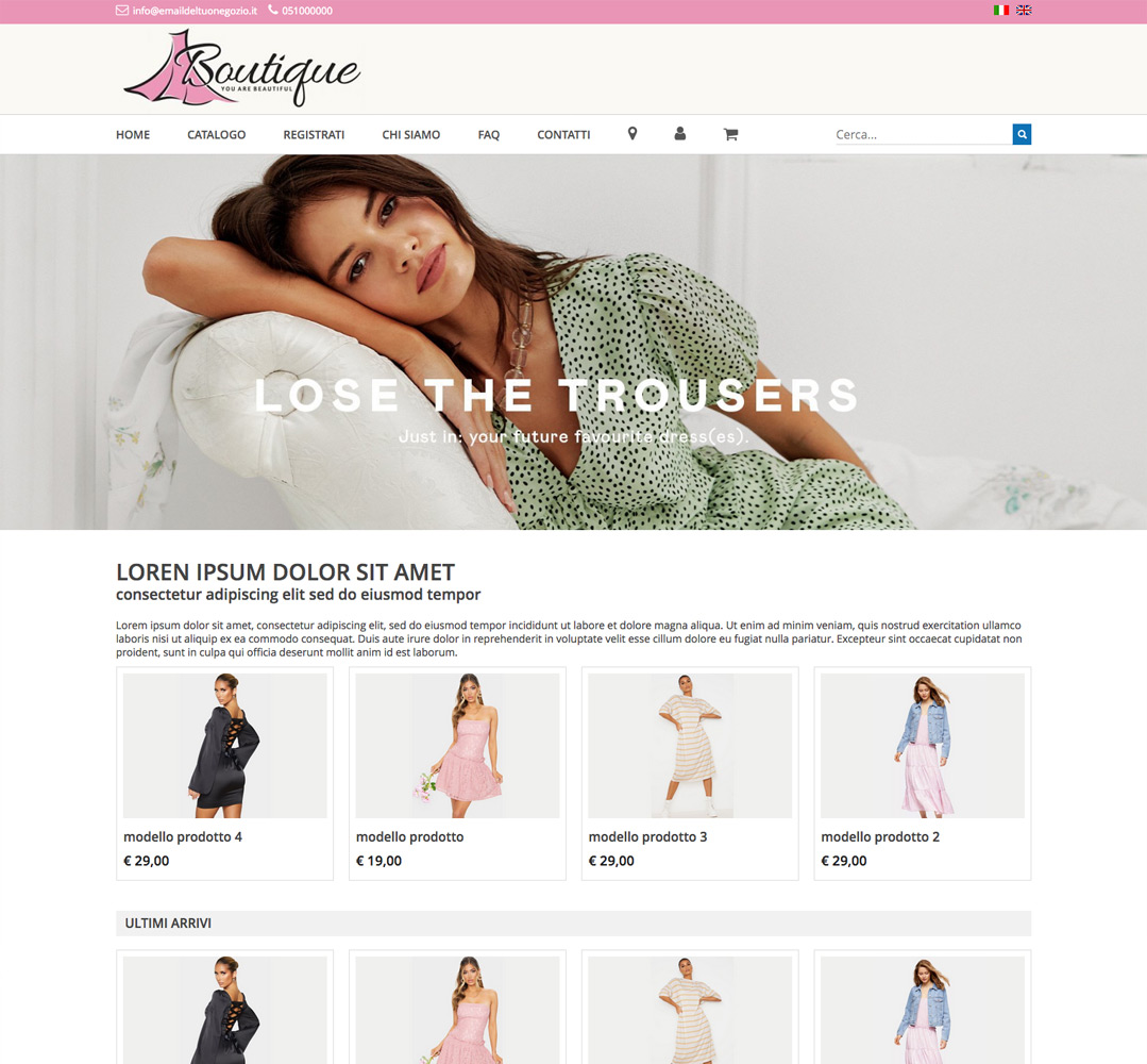 template-ecommerce-cocommerce 4